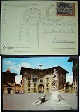 1969 Italia  25 lire L. Gonzaga su  cartolina 33°  Congresso Di Pediatria  Pisa