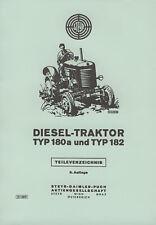 Reparaturhandbuch für den Diesel-Traktor 26 und 30 PS Typ 180 STEYR