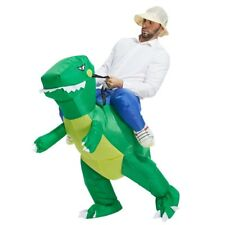 Inflatable Dinosaur Costume T-REX Adult Fancy Dress Halloween Party Fun Dino NEW