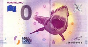 06 ANTIBES Marineland 4, 2019, Billet Euro Souvenir