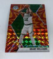 Grant Williams RC 2019-20 MOSAIC Reactive Orange Prizm Rookie 217 Boston Celtics