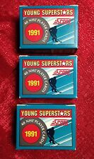 1991 Score Young Superstars Hockey - 3 Complete Sets - New Mint Federov Jagr RC