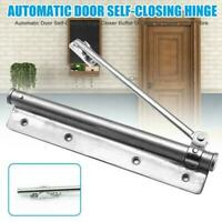 Automatic Door Self-Closing Hinge Closer Buffer Durable Office For Home G0G8