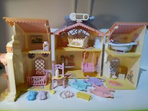 Vintage G1 My Little Pony Lullaby Baby Nursery w Accessories & Furniture Lot