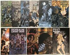 Escape Of The Living Dead #1-5, Annual, Fearbook (Avatar, 2005-2007) 11 Comics