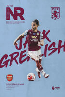 Aston Villa v Arsenal Premier League Programme 21/7/2020