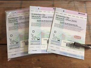 3 x Office 2000 SBE Edition Voll Version OEM mit MwSt Rechnung, Deutsch