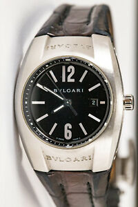 Bvlgari Ergon EG30S D6903 ladies steel analog quartz beautiful functional