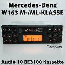 Original Mercedes Audio 10 BE3100 Kassette W163 Radio Autoradio ML-Klasse Becker