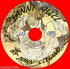 FANNY HILL BY JOHN CLELAND ADULT CLASSIC AUDIOBOOK CD MP3 AUDIOBOOK UNABRIDGED