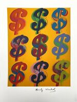 Andy Warhol | Dollar Sign. Signed High Quality Lithograph