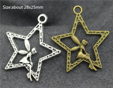Lots Tibetan Silver Fashion European Charms Jewelry Crafts Pendant DIY Finding