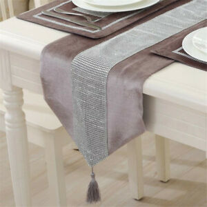 Dinning Table Tablecloth Tassels Table Flag Simple Home Clean Table Runner BA