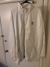 Adidas Parka Jacket Long 2xl White Stylish