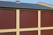 Auhagen 80417 échelle H0, Colonnes porte et frises courtes jaune #