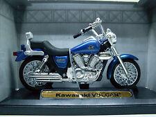 Kawasaki Vulcan azul, Motormax modelo de motocicleta 1:18