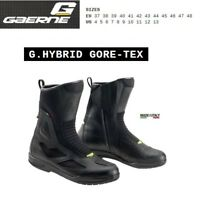 Stivali adventure touring moto GAERNE G.HYBRID GORE-TEX black nero 2438001