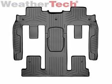 WeatherTech Car Mat FloorLiner for Enclave/Traverse/Acadia - 2nd/3rd Row - Black