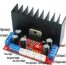 Four Sound Channels TDA7377 Power Amplifier Board Stereo Surround Input Kit Set