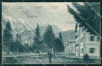 Belluno Comelico Superiore Bagni di Valgrande cartolina QT3794