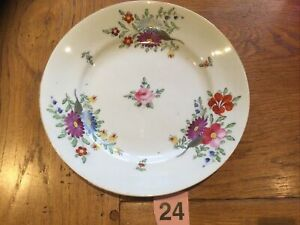 ROYAL CROWN DERBY, Antique Plate Hand Painted Early 1800s, Very Good Condition