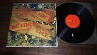 AC/DC TNT T.N.T. Vinyl LP Record Albert Productions OZ Red Label Press NM