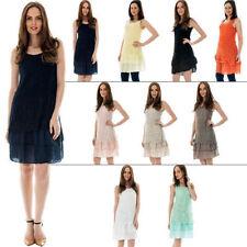 Damenkleider mit U-Ausschnitt aus Viskose für Business-Anlässe