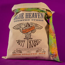 "AMERICANA COUNTRY STORE DECOR ""Happy Thoughts"" Flour Sack Vintage Feedsack Seed"