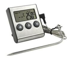 Termómetro Digital Profesional de Carne Alimento con Sonda Temporizador Cocina