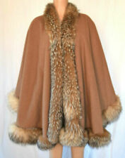 Cappotti, giacche e gilet da donna marrone pelliccia