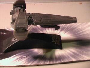 Star Wars 2005 Sith Infiltrator Titanium 100% Com w/Card C-6 Hasbro Galoob METAL