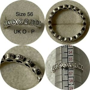 PANDORA ALLURING BRILLIANT RING SIZE 56 UK O - P REF 190942CZ RRP £65.00