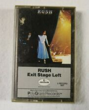 "Rush ""Exit Stage Left"" Cassette Tape, 1981"