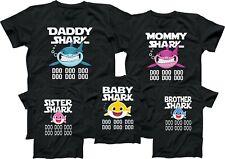 Baby Shark Mommy Shark Daddy Shark Tshirt Family Member Tee Shirt