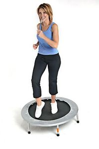 Rebounder Mini Trampoline Folding 36 inch Aerobic Cardio Workout Home Fitness