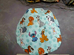 Bouffant surgical scrub hat cap medical blue disney dogs