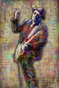 ELVIS COSTELLO Poster, Elvis Costello Tribute Art with Free Shipping US