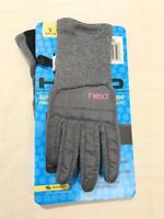 Head Junior Hybrid Gloves And Mittens, For Ages 4-6, Youth Small, Grey/Pink