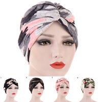 Womens Cancer Head Wrap Muslim Headwear Hair Hats Lady Bandanas Scarf Turban Cap
