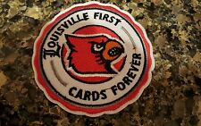 """University of Louisville - Louisville Cardinals  Embroidered  Iron On Patch 3"""""""