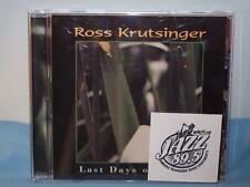 Last Days Of Spring By Ross Krutsinger 2003 CD 2 Hound Sound
