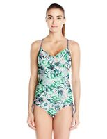 PRANA Moorea One Piece Swimwear Sz. Large (White Bali) 149114
