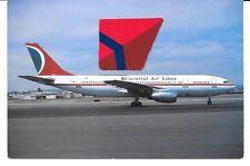 CARNIVAL AIR LINES MIAMI AIRBUS A-300 #N221EA POSTCARD