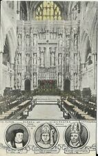 R P PHILLIMORE, Winchester Cathedral, Altar Screen, Hampshire  postcard