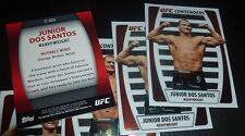 Junior Dos Santos UFC 2011 Topps Title Shot Contenders Card #C-JDS 160 155 146