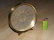Clock Watch Office Desk Pendulum table old jaz transistor LUXURY BRASS BAUHAUS