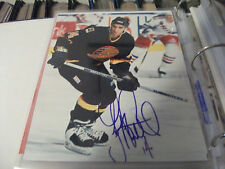 GEOFF COURTNALL VANCOUVER CANUCKS AUTOGRAPHED 8 X 10 PHOTO