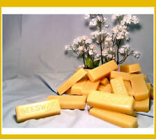 ORGANIC Yellow Beeswax cosmetic grade bees wax bar 1oz