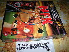NFK + Poster Vintage Funny FPS PC Windows Game Big Box NEW! SEALED! RARE!