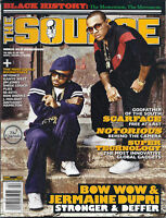 Source Magazine Bow Wow Jermaine Dupri Scarface Notorious Black History Gadgets